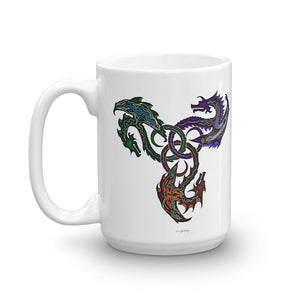 GOTHIC DRAGONS Mug - COOOL CATS