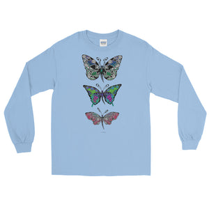 BUTTERFLIES Long Sleeve T-Shirt - COOOL CATS