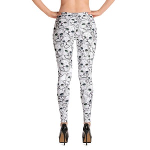 ANGORA KITTY FACES Leggings - COOOL CATS