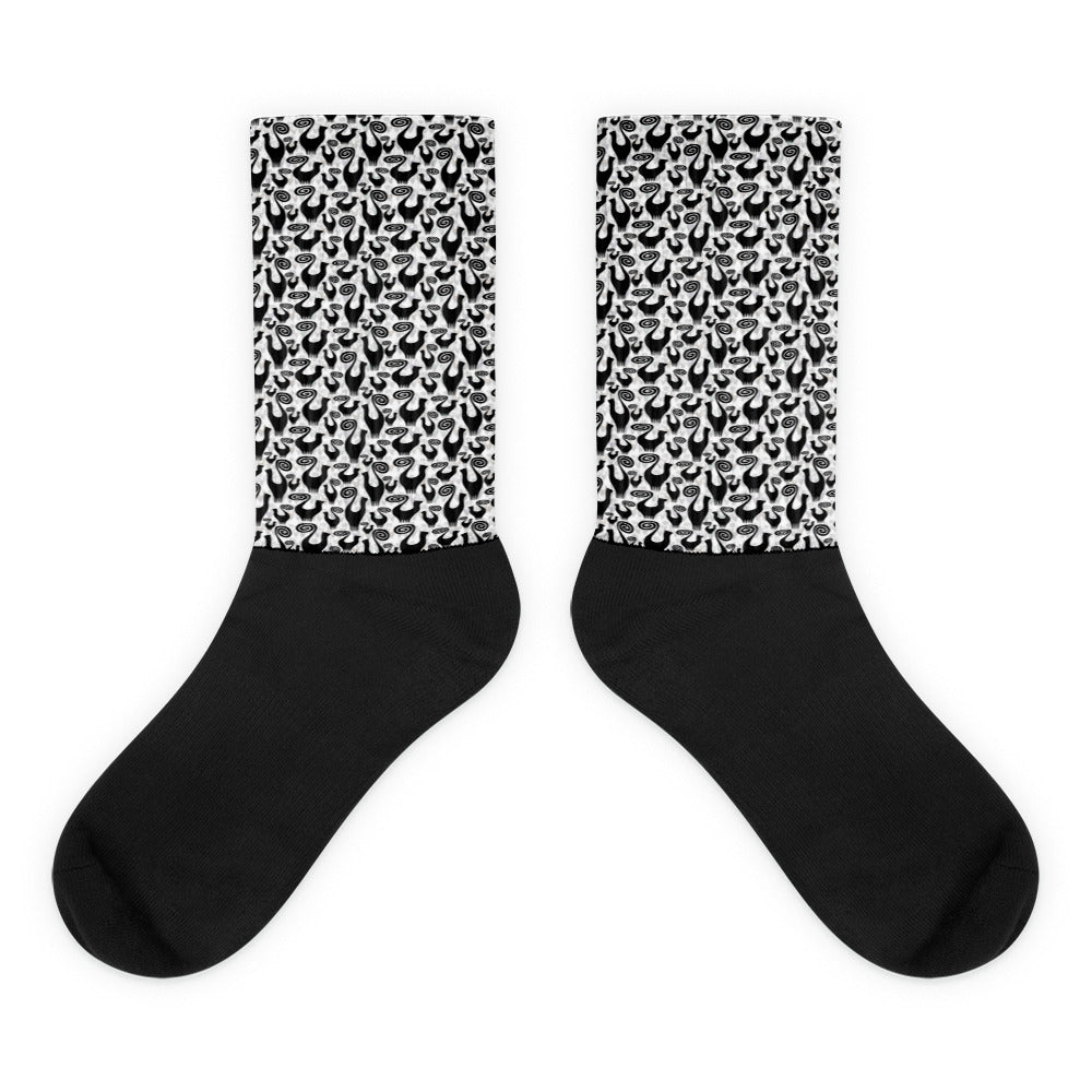 SNOOTY SCATTER Socks - COOOL CATS