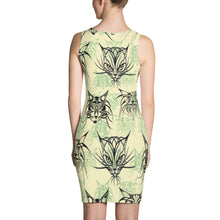 TRIBAL CATS PATTERN Sublimation Cut & Sew Dress - COOOL CATS