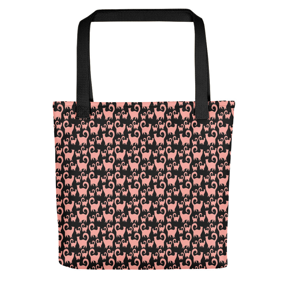 PINK SNOBBY Tote bag - COOOL CATS