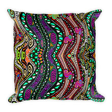 SISTER SWIRLS Square Pillow - COOOL CATS