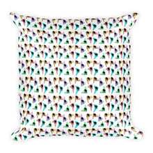RETRO KITTYS Square Pillow - COOOL CATS