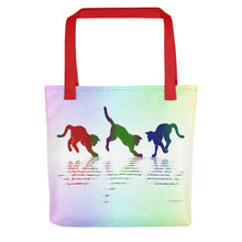 RAINBOW REFLECTIONS Tote bag - COOOL CATS