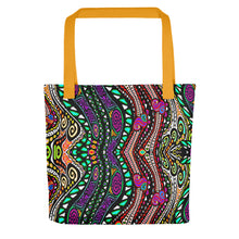 SWIRLY PATTERN Tote bag - COOOL CATS