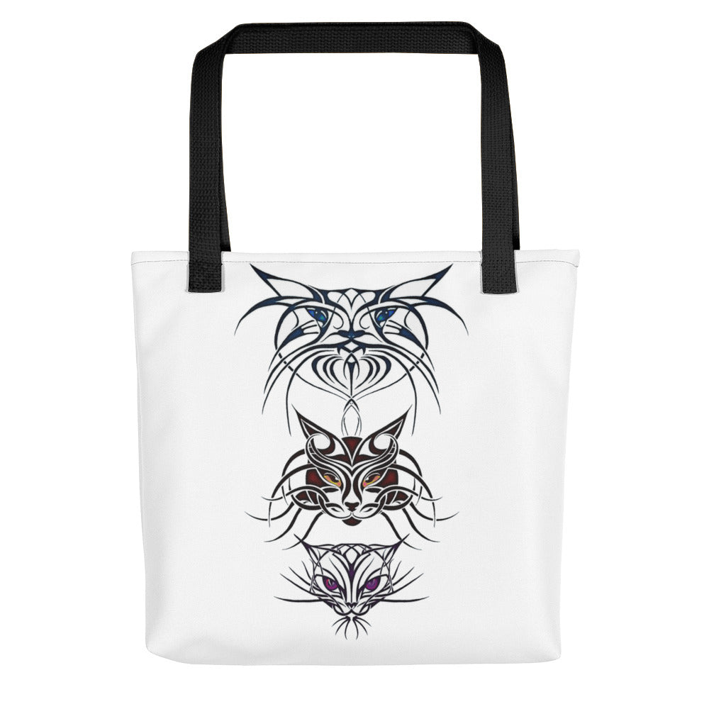 TRIBAL CATS Tote bag - COOOL CATS