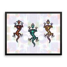 GECKO GUYS Framed poster - COOOL CATS
