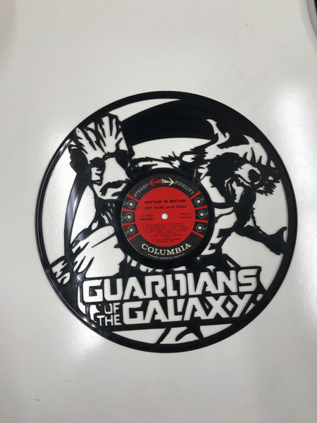 GUARDIANS OF THE GALAXY-1 Laser Cut Vinyl Record artist representation