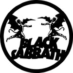 black sabbath Laser Cut Vinyl Record artist representation