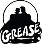 grease-1 Laser Cut Vinyl Record artist representation