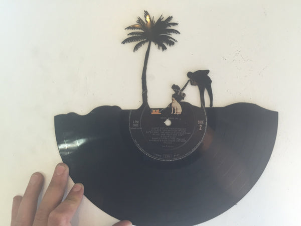 beach Laser Cut Vinyl Record artist representation 2