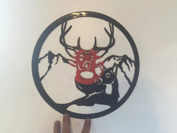 deer and doe hunting vinyl Laser Cut Vinyl Record artist representation