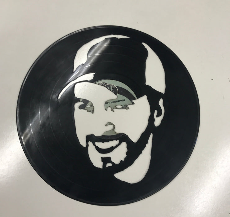 luke bryan Laser Cut Vinyl Record artist representation or vinyl clock