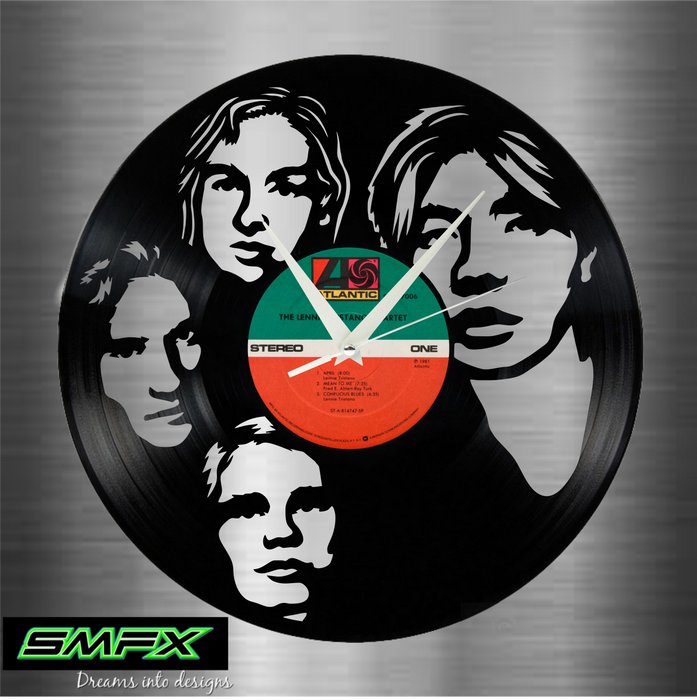 smashing pumpkins Laser Cut Vinyl Record artist representation or vinyl clock
