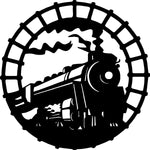 train-1 Laser Cut Vinyl Record artist representation