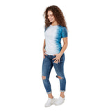 Women's Shark Skin Blue