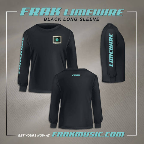 Limewire Long Sleeve Shirt - Black