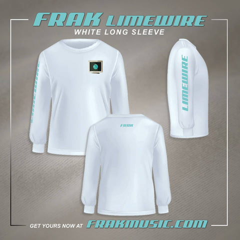 Limewire Long Sleeve Shirt - White