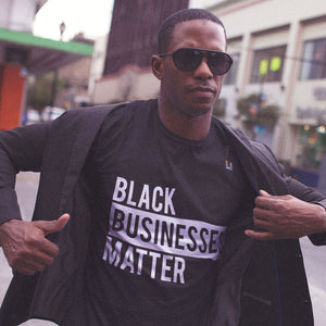 Black Businesses Matter Men's Tee
