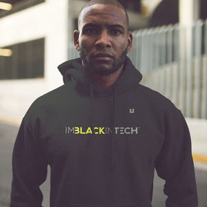 ImBlackInTech Branded Men's Hoodie