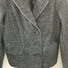 J. Crew Charcoal Gray Black Blazer Button Up