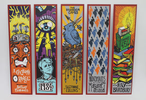 'DYSTOPIA' BOOKMARKS Complete Set of 5