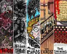 BOOKMARKS - DYSTOPIA & HORROR - COMPLETE SET OF 10