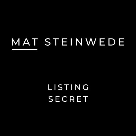 Mat Steinwede's Listing Secrets Audio Book
