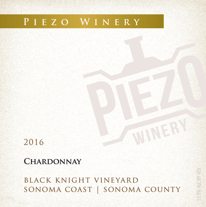 2016 Chardonnay - Black Knight Vineyard