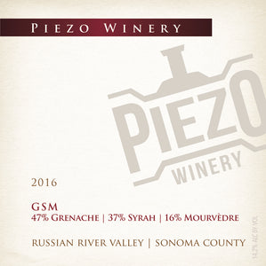 2016 GSM - Russian River Valley