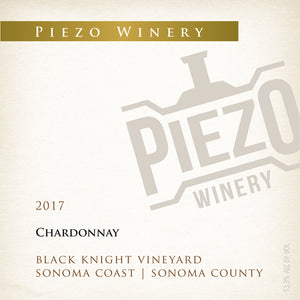 2017 Chardonnay - Black Knight Vineyard