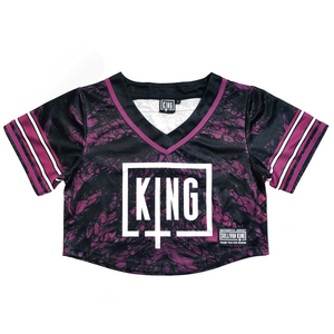 "Sullivan King ""Reckless"" Crop Top Football Jersey"