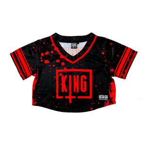 "Sullivan King ""RECKLESS"" Crop Top Football Jersey (LIMITED EDITION)"