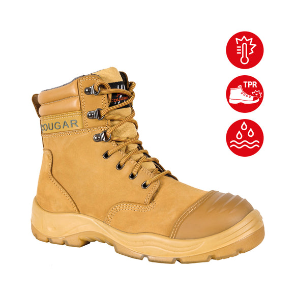 Cougar Safety Footwear STEEL CAP BOOTS - B215W