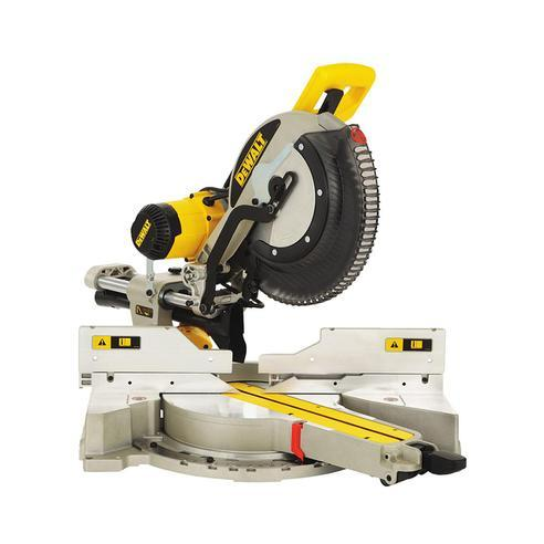 DeWalt DWS780-XE Double Bevel Slide Compound Mitre Saw