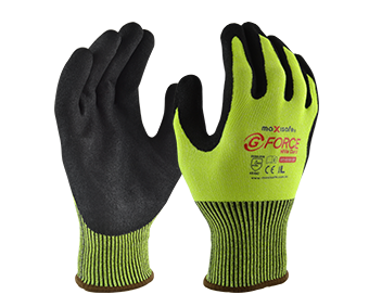 Maxisafe G-FORCE HiVis CUT 5 GLOVE