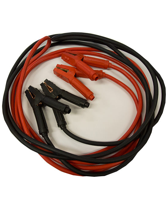 1000 amp fully insulated professional jumper leads