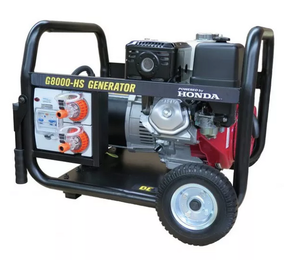 BE Equipment HONDA 8.0KVA TRADE SPEC GENERATOR