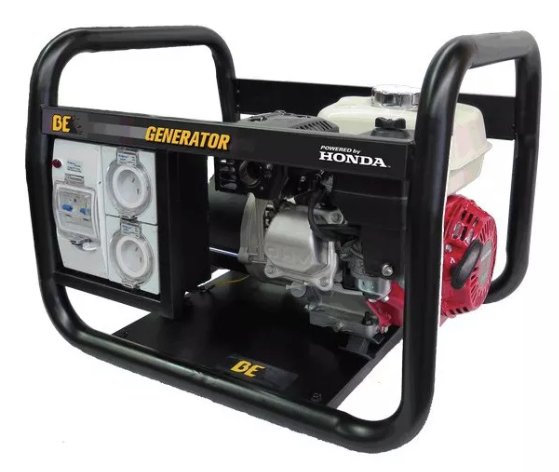 BE Equipment HONDA 3.8KVA TRADE SPEC GENERATOR
