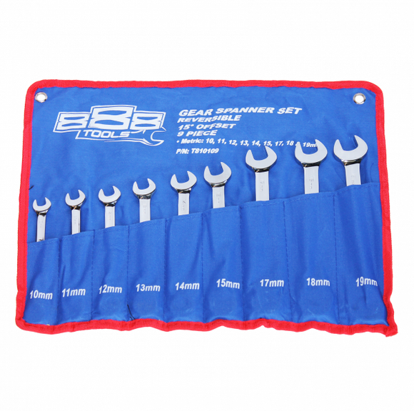888 Tools T810109 Spanner Set