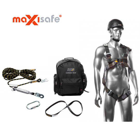 Maxisafe TRADE ROOFERS HARNESS KIT