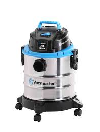Vacmaster VMVQ1220SS-B Wet and Dry Stainless Steel Vacuum Cleaner