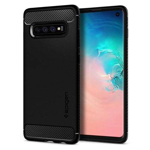 Spigen Rugged Armor Case for Galaxy S10