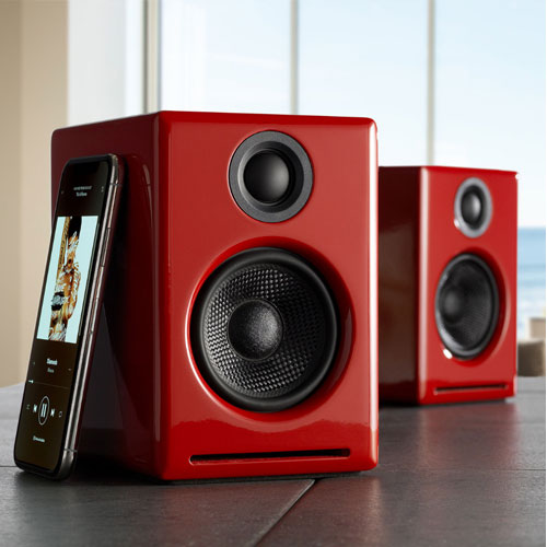Audioengine A2+ Wireless Music System with  Bluetooth APTX