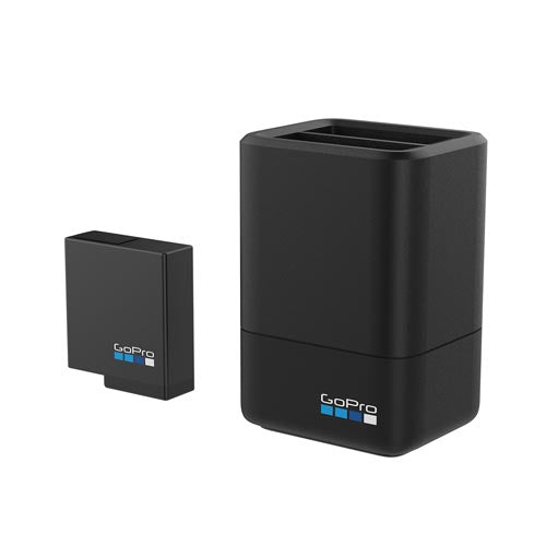 GoPro Dual Battery Charger + Battery for HERO 7/6/5 and HERO 2018