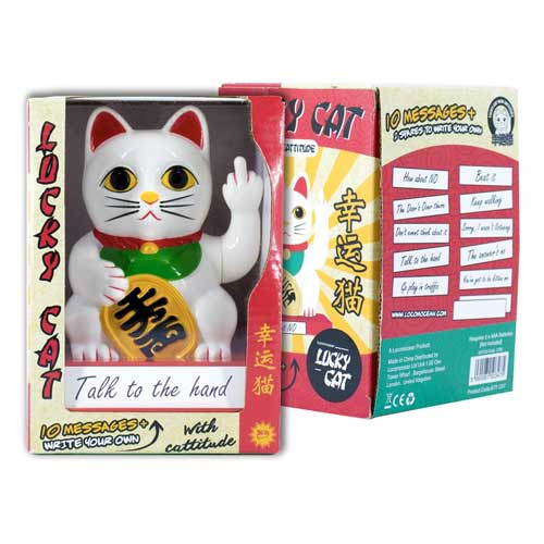 Locomocean Cattitude - Lucky Cat With Attitude