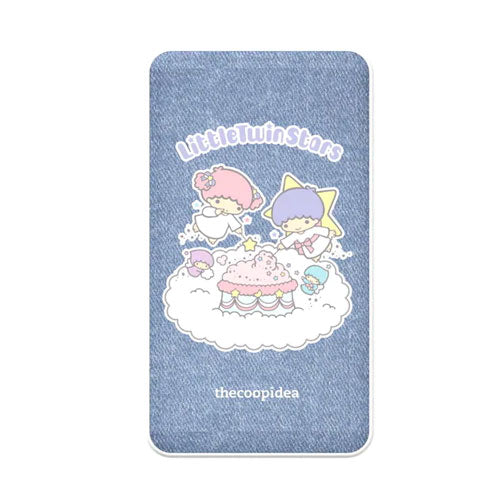 Thecoopidea Sanrio Wireless Charging 6000mAh Powerbank - Little Twin Stars