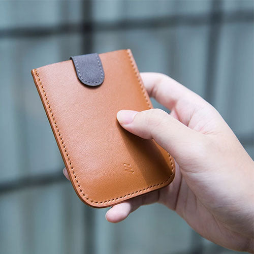 Allocacoc DAX Wallet Microfiber Leather