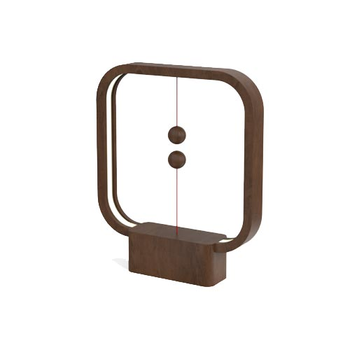 Allocacoc Heng Balance Lamp Square Wood 2